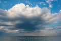 Clouds over Lake Huron print