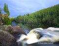 state park, baptism river, minnesota