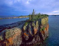 Split Island on Lake Superior