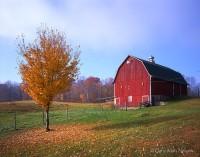 Barn, st. croix, minnesota, autumn