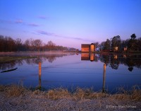 barn, reflections, minnesota, pond, rural