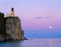Full Moon over Split Rock Lighthouse