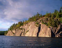 national park, minnesota, lake, cliffs