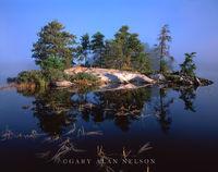 national park, lake, minnesota, voyageurs, fog