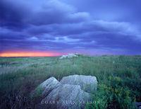thunderstorm, prairie, state park, minnesota