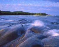 Smooth Bedrock on Lake Superior