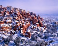 Arches National Park, Utah, fiery furnace