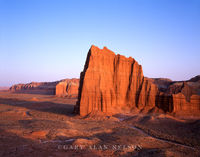 Capitol Reef National Park, Utah, temple of the sun