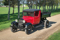 antique trucks, ford, dump truck