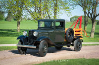 antique trucks, ford, tow truck