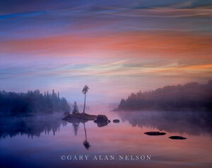 Dawn over Island