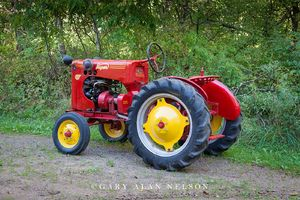 Gibson, antique tractor