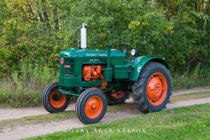 antique tractor, Bolinder-Munktell