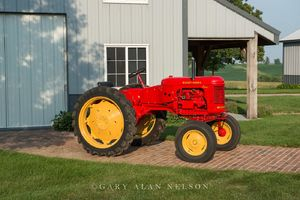 antique tractor, Massey-Harris