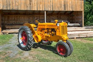 Minneapolis Moline, antique tractor