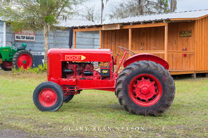 antique tractor, vintage tractor, Co-Op