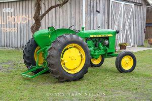 antique tractor, vintage tractor, John Deere