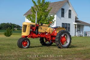 Case, antique tractor