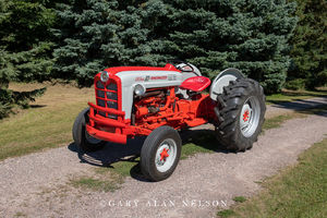 Ford, antique tractor