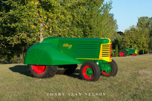 antique tractors,oliver, 66 standard, 77 orchard
