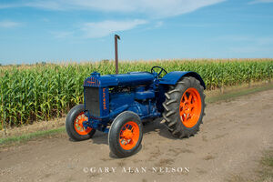 Fordson,antique tractor