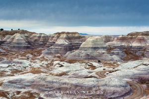 Petrified Forest National Park, national park, arizona, badlands