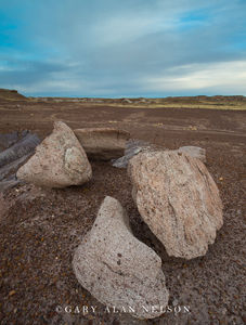 Petrified Forest National Park, national park, arizona, boulders, badlands