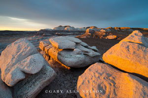 Boulders in Evening Light