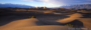 sand dunes, death valley, mountains