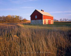 Flint Hills, Kansas, barn