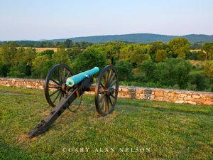 Canon overlooking Battlefield