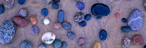 Stones in Sand