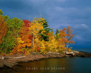 Rouged Skies over Lake Superior