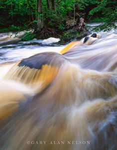 Ottawa National Forest, Michigan, falls