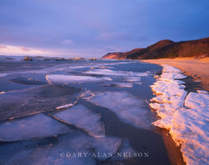 Sleeping Bear National Lakeshore, Michigan, ice