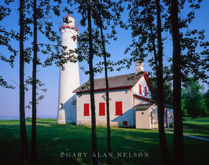lake Huron, Alcona County, Michigan, lighthouse