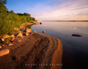minnesota river, state park, shore, calm, waters
