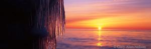 minnesota, lake superior, icicles