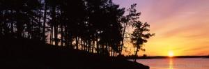 voyageurs national park, dawn, minnesota, lake