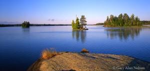 Bear Island State Forest, Minnesota, birch lake, islands