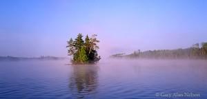 Bear Island State Forest, Minnesota, birch lake, island