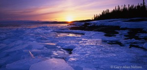 North Shore of Lake Superior, Minnesota, ice, sawtooth mountains
