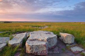 minnesota, state park, sioux quartzite, prairie, boulder