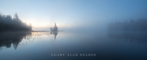 Sunrise,Superior National Forest,boundary waters,boundary waters canoe area,calm,dawn,fog,island,minnesota,national forest,reflections,water,wilderness