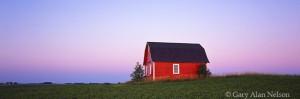 Red Barn at Twilight
