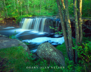 wofl creek falls, banning state park, minnesota