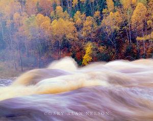 tettegouche state park, baptism river, minnesota, autumn