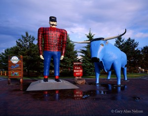 Paul Bunyon and Babe the Blue Ox
