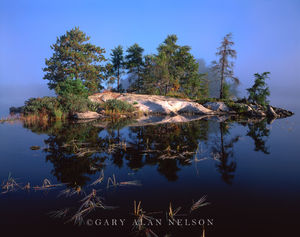 national park, lake, minnesota, voyageurs, fog