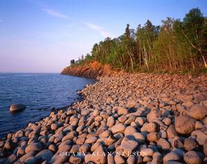 minnesota, lake superior, state park, cobble, beach